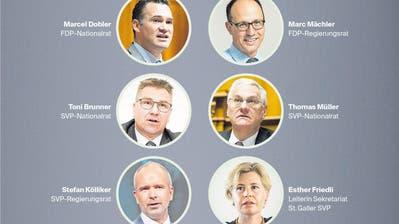 Die Kandidatur von Karin Keller-Sutter fördert Spekulationen: Erwartet wird ein bürgerlicher Dreikampf um den FDP-Ständeratssitz