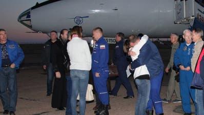 Zwei Astronauten überleben Sojus-Notlandung in Kasachstan