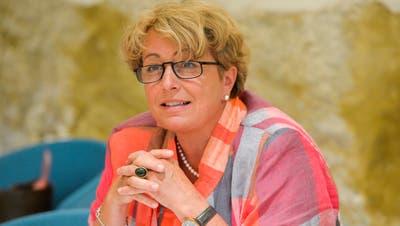 Regierungsrätin Cornelia Komposch. (Bild: Donato Caspari)