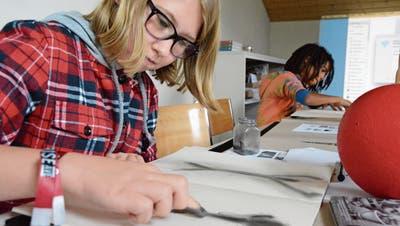 In der Frauenfelder Bildschule lernt man auch in den Ferien