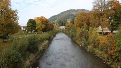 Die Thurverbauungen in Wattwil sind über ein Jahrhundert alt. (Bild: Martin Knoepfel)