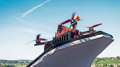 Drohnenrennen in Rapperswil-Jona: Wettkampf der Rieseninsekten