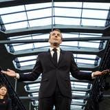 Frankreichs Präsident Emmanuel Macron offenbart politische Schwächen. (Ludovic Marin/EPA (Paris, 9. Oktober 2018)