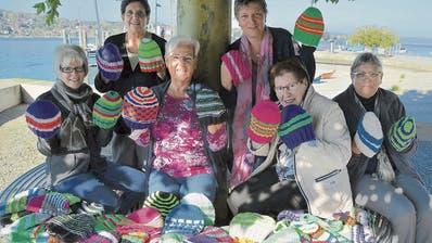 Der Gemeinnützige Frauenverein Steckborn strickt, was das Zeug hält