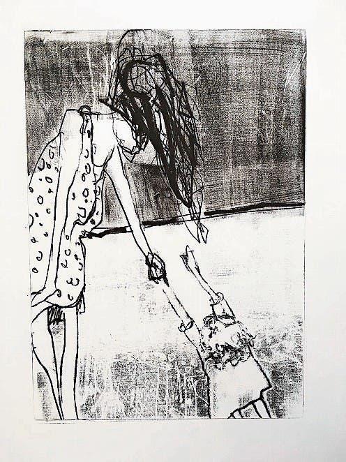 Zeichnung von Tania Strickrodt.
