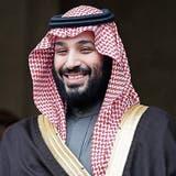 Mohammed bin Salman, saudischer Kronprinz. (AP)