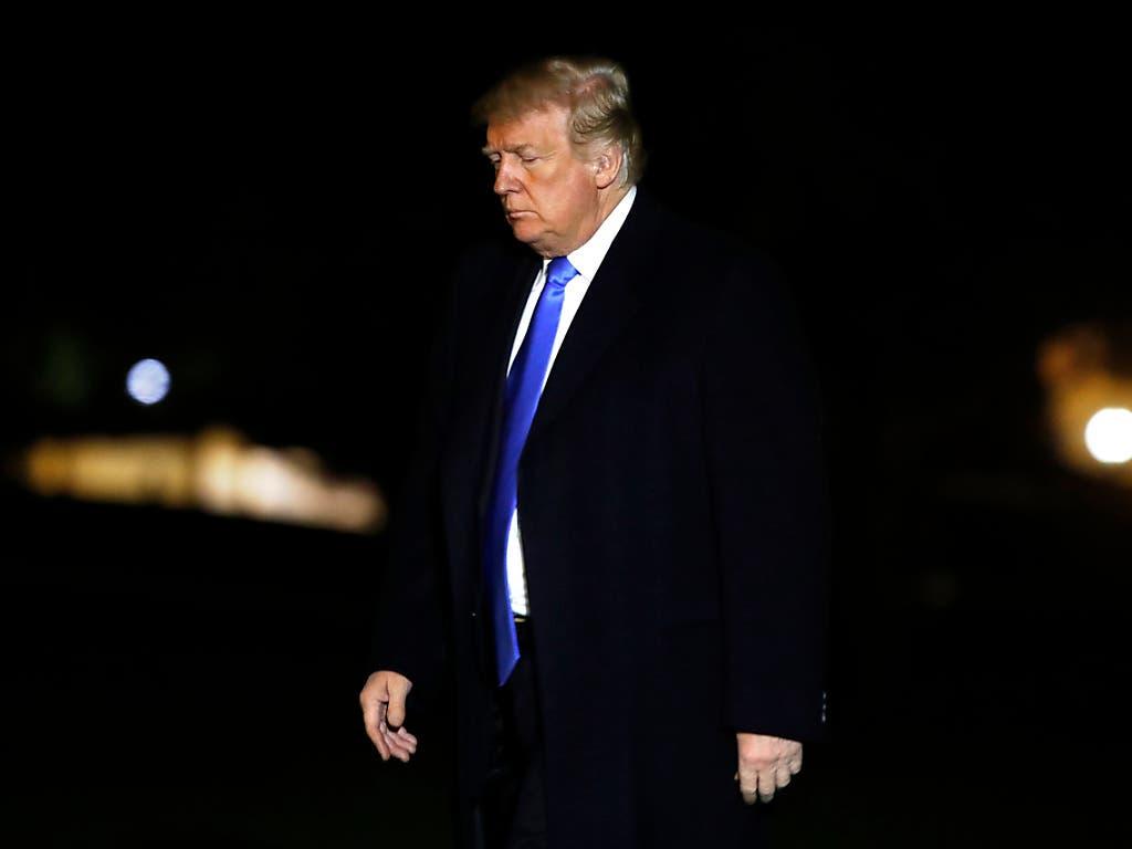 Im Vergleich zum vergangenen März glauben mehr US-Bürger, dass ihr Präsident Donald Trump 2020 die Wiederwahl schaffen könnte. (Bild: KEYSTONE/AP/JACQUELYN MARTIN)