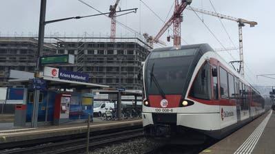 Der Bahnhof Mattenhof in Kriens erhält einen Bushub (Bild: PD,8. Februar 2018)