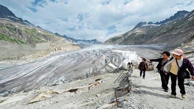 Klimawandel: Massive Verluste bei Schweizer Gletschern