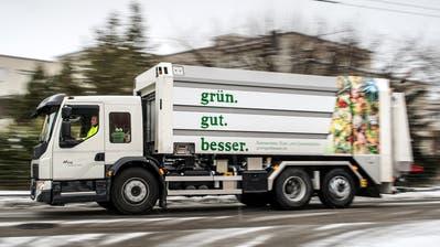 Mit Vorstössen lässt sich selten etwas Grundsätzlich in Bewegung setzen. Eine Ausnahme ist die Geschichte der St.Galler Grünabfuhr. Auslöser für ihre Einführung auf Anfang 2017 war ein Vorstoss im Jahr 2013. (Bild: Ralph Ribi - 27. Juli 2017)