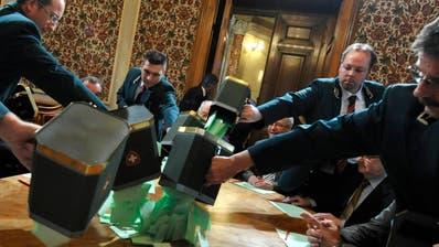 Bundesratswahlen: Peter Hegglin bereits einen Schritt weiter im Rennen