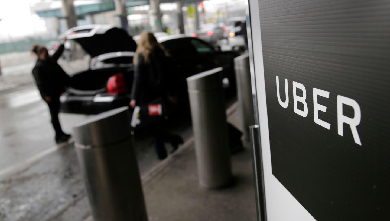 Uber-Fahrer sind selbständig tätig. Solche Arbeitsformen dürften mit der zunehmenden Digitalisierung häufiger werden. (Bild: Seth Wenig/AP, San Franciso, 15. September 2018)