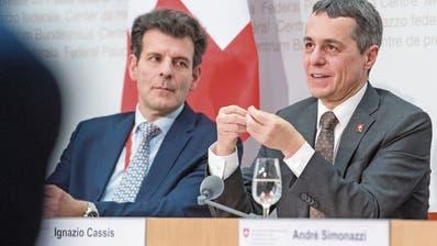 Verhandlungen über ein Rahmenabkommen: Brüssel und Bern spielen Katz und Maus