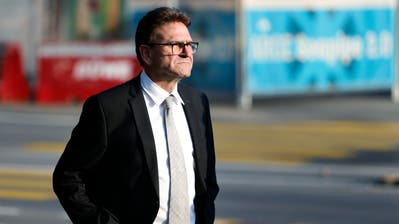 Der CVP-Justizdirektor Beat Villiger bleibt Regierungsrat. (Bild: Stefan Kaiser(Zug, 7. Oktober 2018))