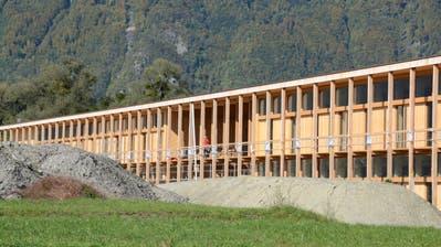 «Wir freuen uns riesig», sagt Zentrumsleiter Markus Hobi zum Bezug des Neubaus der Landwirtschaftsschule (Bild). (Bild: Corinne Hanselmann)