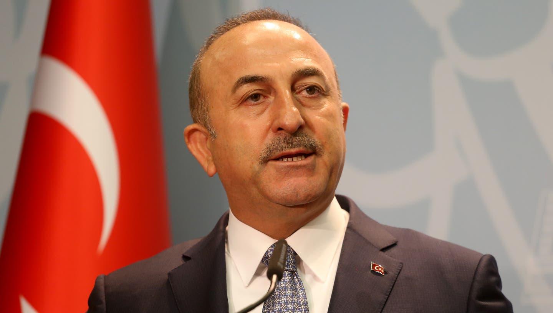 Der türkische Aussenminister Mevlut Cavusoglu (Bild: Keystone/Malton Dibra/Tirana, 19. Oktober 2018)
