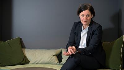 Christa Augsburger, Direktorin der Hotelfachschule Luzern (Bild: Corinne Glanzmann, 19. Februar 2018)