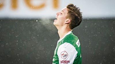 Cedric Itten dürfte für den Rest dieser Saison aufallen. (Bild: Benjamin Manser)