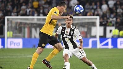 Keine Chance: YB verliert gegenJuventus Turin 0:3