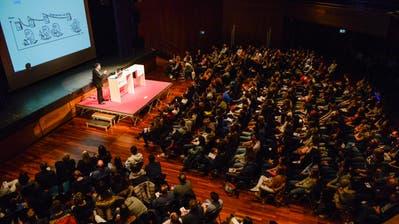Im vergangenen Jahr ging es am Thurgauer Lehrlingstag unter anderem um das Thema «effizientes Lernen». (Bild: Donato Caspari)