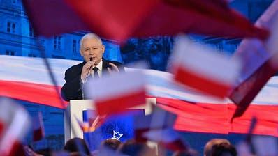 PiS-Chef Jaroslaw Kaczynski. (Bild: AlikKeplicz/AP, Warschau, 2. September 2018)