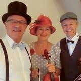 Das Caligari-Trio: Pianist Urs Germann sowie die Geigerinnen Regula Raas und Kim Maria Bischof. (Bild: PD)