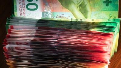 In der Stadt St.Gallen gibt es gemäss dem Stadtrat keine Luft für eine Steuerfusssenkung. (Bild: Keystone)