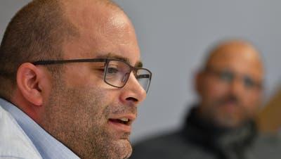 Raphael Rechsteiner aus Wittenbach ist einer der drei Kandidaten fürs Gemeindepräsidium. (Bilder: Manuel Nagel)