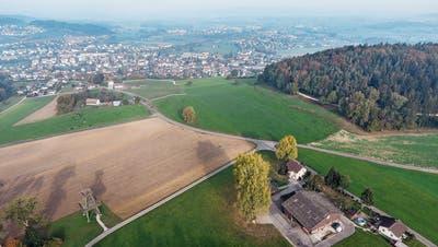 Blick vom Roset auf Sirnach: Der Kanton sieht den Hügelzug als Windenergie-Gebiet. (Bild: Olaf Kühne)