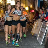 Schweizerisch-italienisches Lauftalent: Valentina Rosamilia (Nr. 507). (Bild: Philipp Schmidli (Luzern, 28. April 2018))