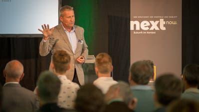 Gregor Stücheli,Chef der St.Galler Firma Inventx. (Bild: Raphael Rohner)