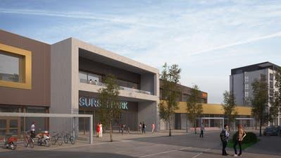 So soll der Surseepark in Sursee nach dem Umbau und der Erweiterung im Herbst 2019 aussehen. (Visualisierung: PD)