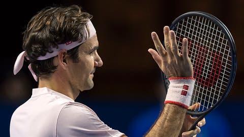 Roger Federer erreicht in Basel die Viertelfinals