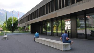 Die Kantonsschule in Sarnen. (Bild: Philipp Unterschütz, 8. Mai 2018)