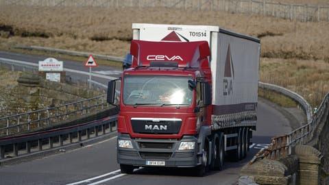 Ein Lastwagen der Ceva Logistics. (Bild: PD)