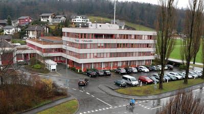 Die Staatsanwaltschaft hat ihre Büros um Sarner Polizeigebäude. (Bild: Christoph Riebli (3. Februar 2016))