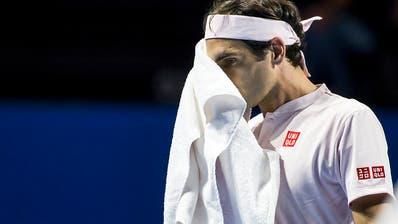 Zittersieg: Federer erreicht nach Achterbahn-Fahrt die Halbfinals