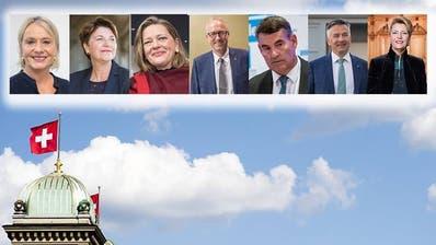 Diese sieben wollen in den Bundesrat: Alle Kandidaten unter der Lupe
