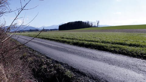 Im Gebiet Hatwil/Hubletzen soll Kies abgebaut werden. (Bild:Werner Schelbert (14. März 2018))