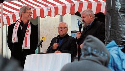 Frauenfelds Stapi Stokholm: «Ohne Thur wärt ihr nur noch Winter»