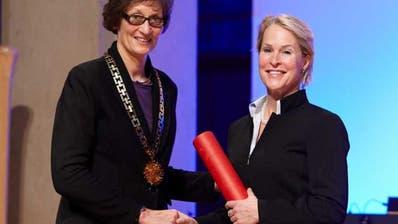 Chemie-Nobelpreisträgerin erhielt 2015 Ehrendoktorwürden der ETH