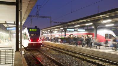 Da die S1 nach St.Gallen ab Dezember sechs Minuten früher losfährt, verlieren Toggenburger Pendler eine optimale Anschlussverbindung. (Bild: Stefan Beusch)