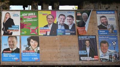 Der Wahlkampf ist in vollem Gang: Am 14. Oktober wird in Bayern ein neuer Landtag gewählt. (Bild: Keystone)