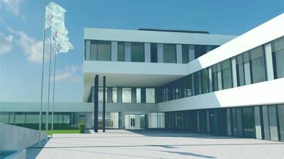 So soll der Eingangsbereich der neuen Klinik aussehen. (Bild: PD)