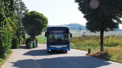 Der blaue Elektrobus hat den Test in Frauenfeld bestanden. (Bild: PD)