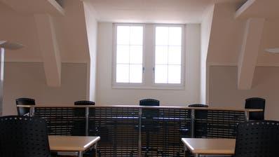 Der Gerichtssaal des Kantonsgerichts in Stans. (Archivbild: Markus von Rotz)