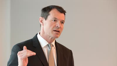 Was war die Rolle von noch BKB-Chef Guy Lachappelle während des ASE-Betrugsfalls?Bild: Roland Schmid (Bild: Georgios Kefalas)