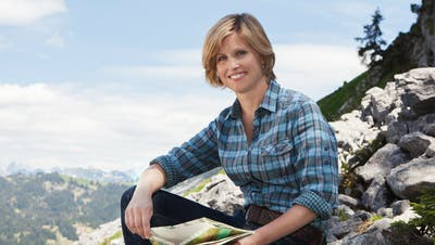 Moderatorin Sabine Dahinden (Bild: Marcus Gyger/SRF)