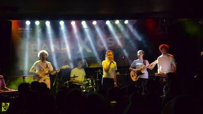 «Maltschik» mit Nachwuchsmusikern aus Sirnach und der Region Wil, nahm an der «bandXost»-Vorausscheidung im Gare de Lion teil. (Bilder: Christoph Heer)