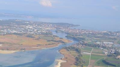 Blick auf die Agglomeration Kreuzlingen-Konstanz. (Bild: Margrith Pfister-Kübler)